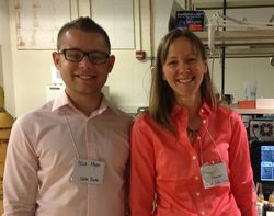 Nick and Gail at Purdue CAID annual meeting